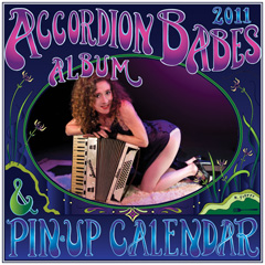 2011 pinup calendar cover image